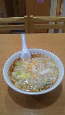 160411 _横浜 玉泉亭のサンマー麺