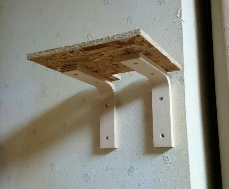 壁に木がなくてネジが効かない時がある