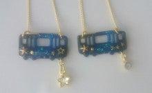 電車ネックレス