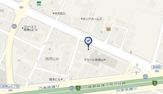 VORT南青山Ⅰ,地図