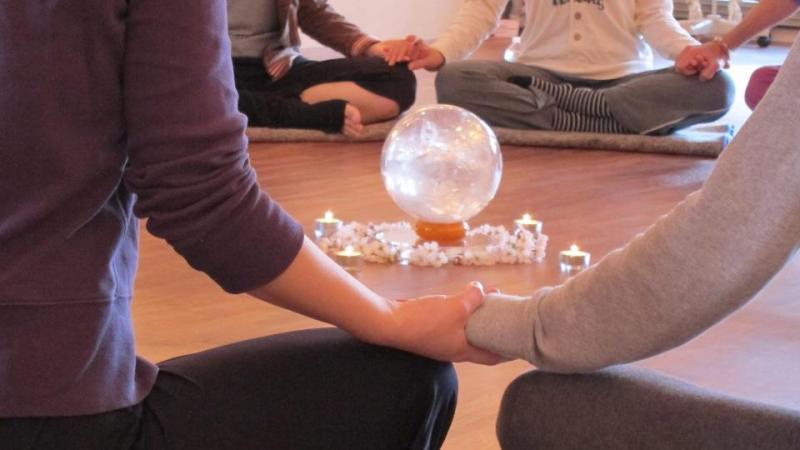 クリスタル瞑想 haidar