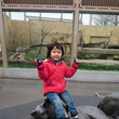 息子と東武動物公園で…