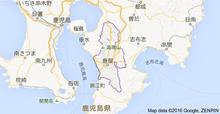 鹿児島県鹿屋 地図
