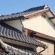 地震でズレた二階の屋…