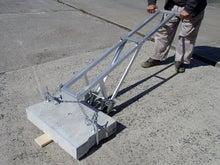 側溝ふた上げ機(側溝の蓋上げ作業で使う機具)