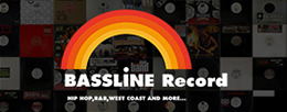 BASSLINE RECORD オフィシャルWEBサイト バナー