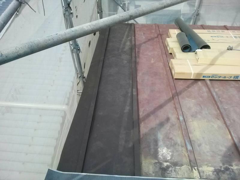 トタン屋根 部分修理
