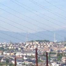 晴れてますが富士山は…