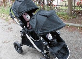 Baby JoggerベビージョガーCity Selectシティセレクト ダブル 口コミ 感想 折りたたみ