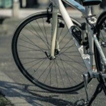 自転車で軽い運動