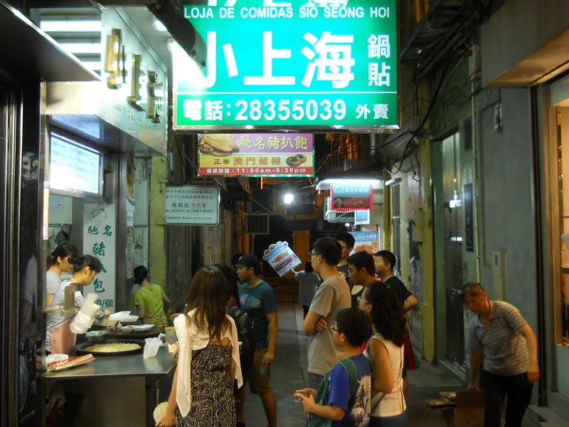 香港近くのマカオの小上海という店
