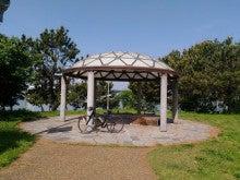 矢倉緑地公園。休憩所