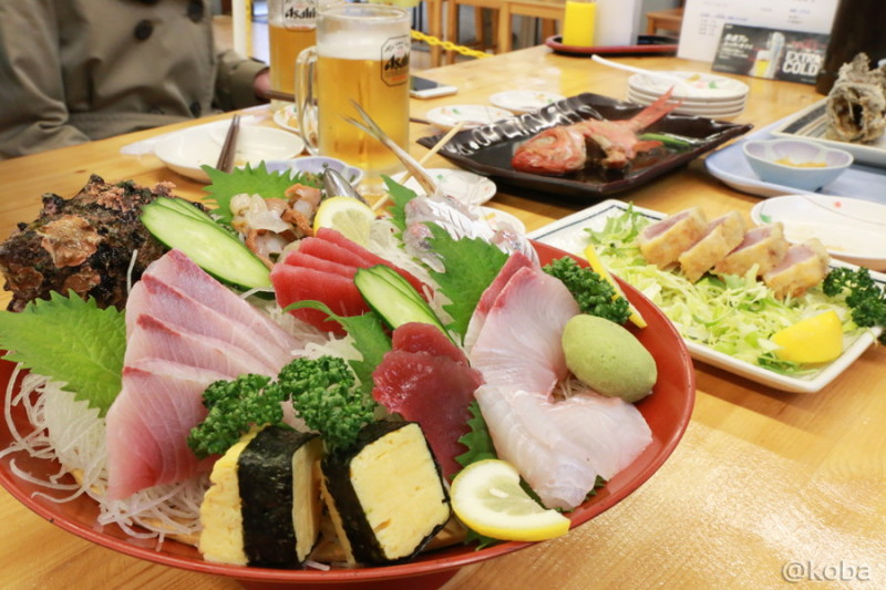 保田の新鮮海鮮
