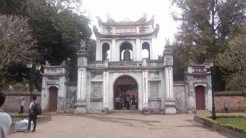 ベトナム ハノイ 文廟
