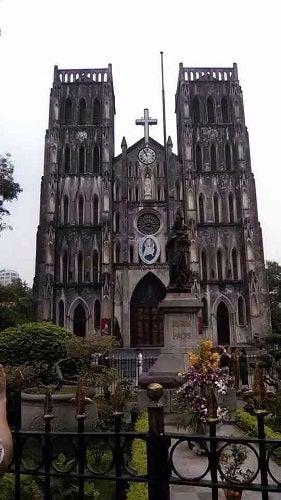 ベトナム ハノイ 教会