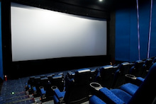 空席の映画館