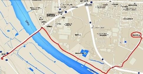 野田橋越えの江戸川渡河ルート
