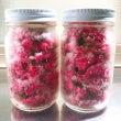 ●桜の花の塩漬け、完…