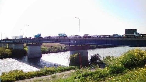野田橋に到達