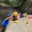 暑い日は川!