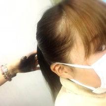 黒髪スプレー