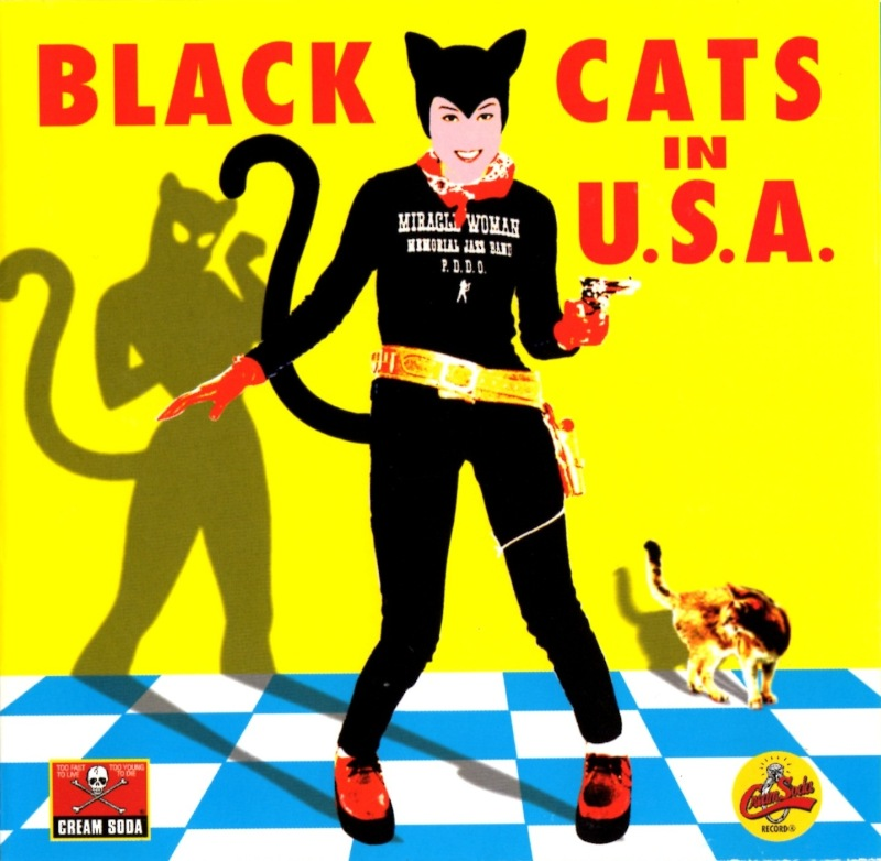 『BLACK CATS IN USA』