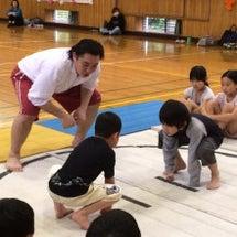 わんぱく相撲の練習会