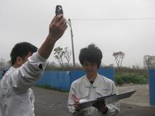中国での臭気コンサルテーションの様子