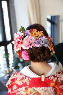 ヘッド装花