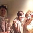 結婚式〜!