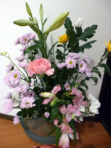 ご葬儀のお花