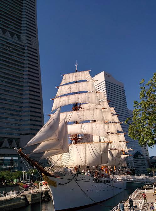 日本総帆展帆