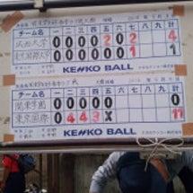 女子ソフト春季リーグ…