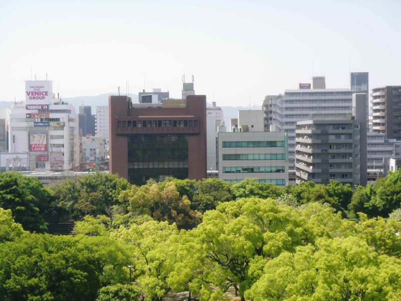 坤櫓からの風景