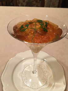 フランス料理店【セル・ドール】のディナー