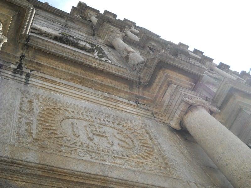 聖ポール天主堂の彫刻