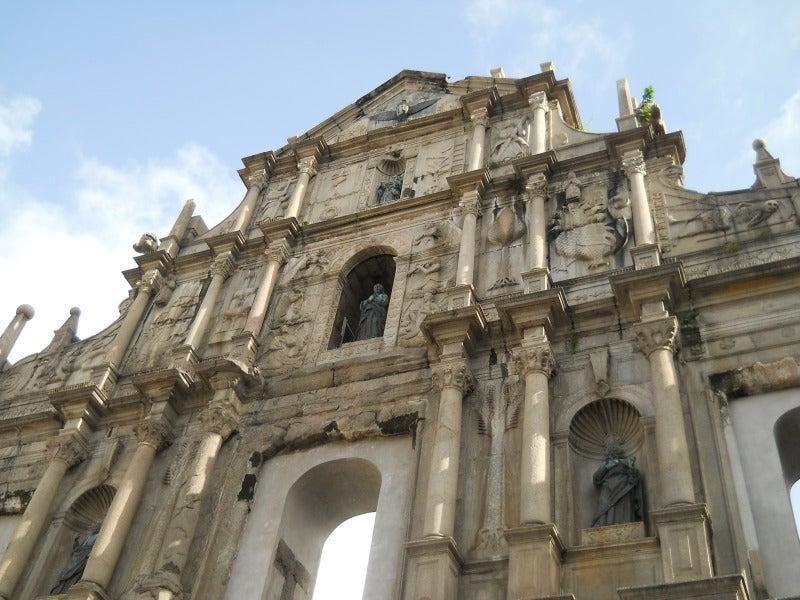 聖ポール天主堂の正面