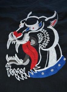 ハンドル刺繍