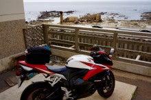 不老不死温泉とバイク