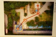 弘前城移動図