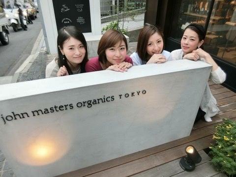 【ジョンマスターオーガニック】 表参道の日本初旗艦店でオーガニックを五感で感じる体験会に行ってきました❤️