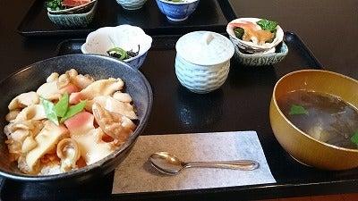 ホッキ飯定食1500円