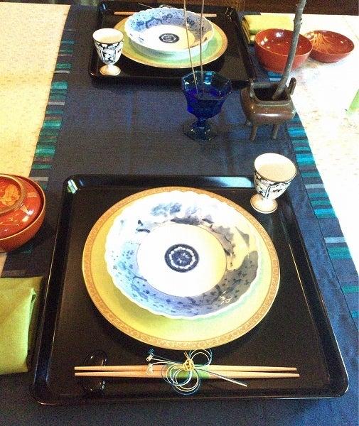 エリスマン邸テーブルコーディネート