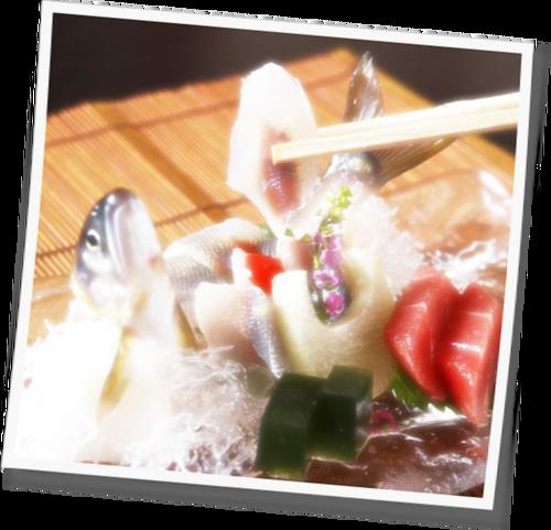 鮎の洗い 飯山温泉 元湯旅館