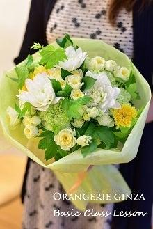 花束 白黄色系