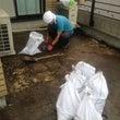 ベランダ菜園の撤去作…
