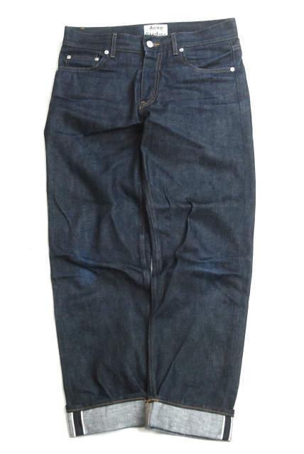max 10.5cm tear JEANS REPAIR Undercover Patch Faded Blue Denim Square Size:L