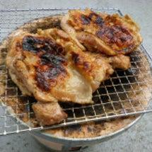 炭焼きチキンパン
