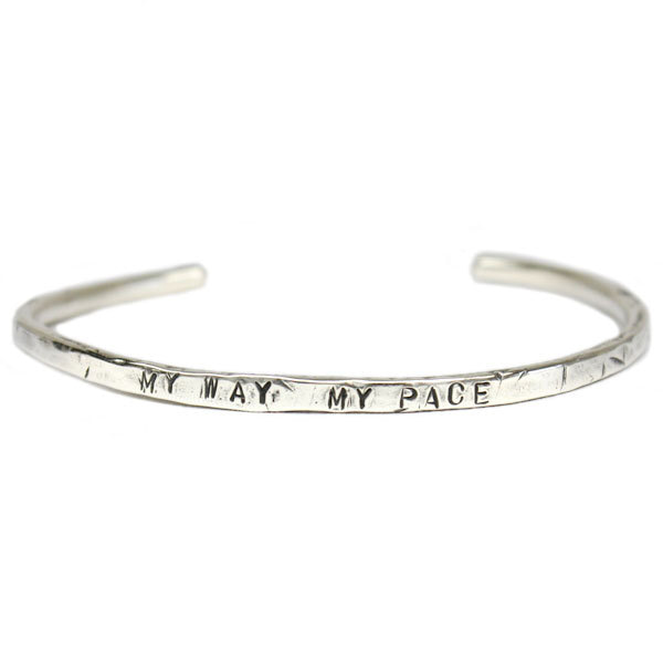 MY WAY MY PACE BANGLE