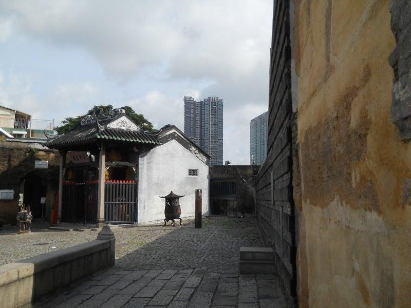 聖ポール天主堂の裏の中国的建物